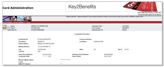 Key7Benefits Administrator Complete User Guide KeyBank