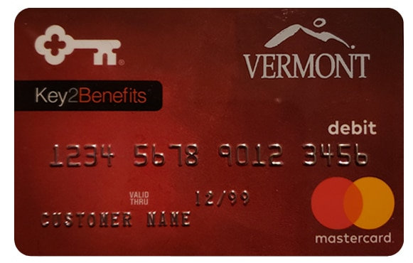 Key2Benefits Vermont DOL card image