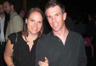 Andrew Watterson and Carrie Carpenter